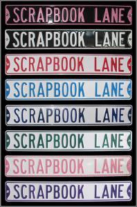 scrapbook lane