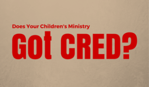 Does Your Children's Ministry